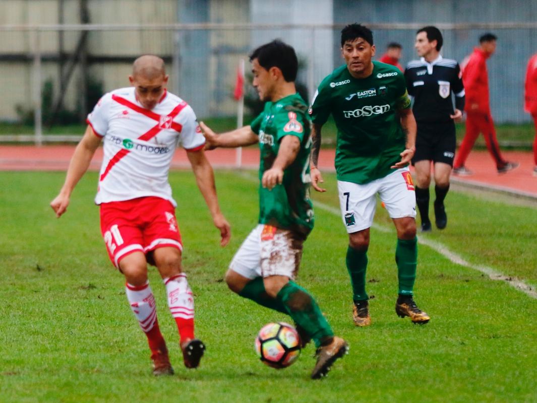 COPA CHILE MTS 2018, CLUB DEPORTES TEMUCO RECIBE A D. VALDIVIA