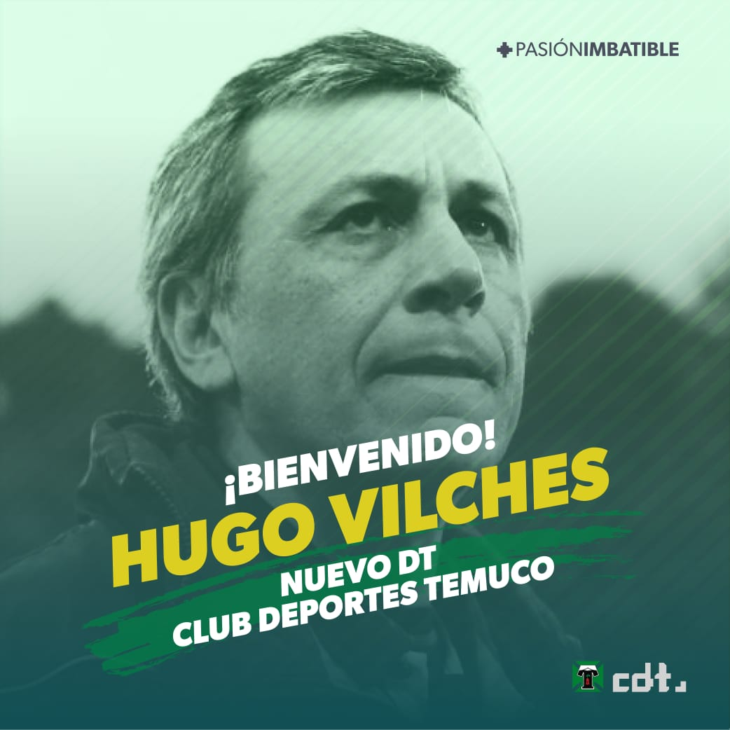 """HUGO VILCHES """"CLUB DEPORTES TEMUCO TIENE UNA SOLA MISION, VOLVER A PRIMERA DIVISION"""""""
