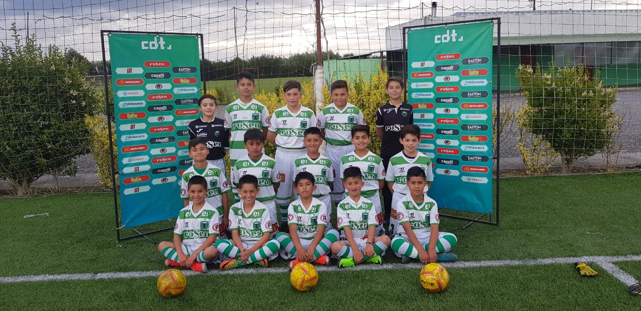 ESCUELA FUTBOL FORMATIVA CLUB DEPORTES TEMUCO VIAJO AL CAMPEONATO OSORNO CUP