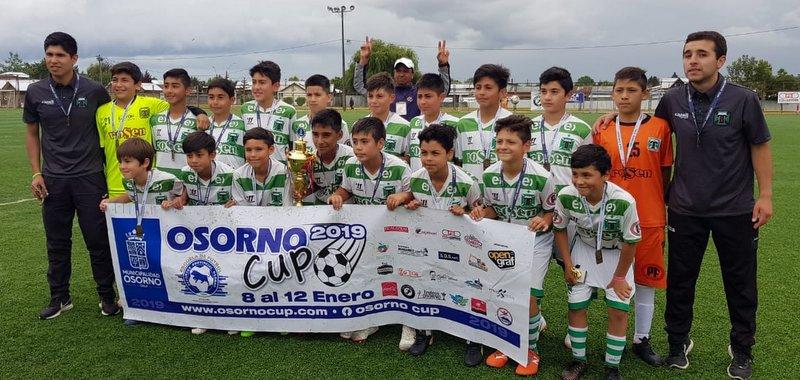 CATEGORIA 2007 ALBIVERDE, CAMPEON OSORNO CUP 2019